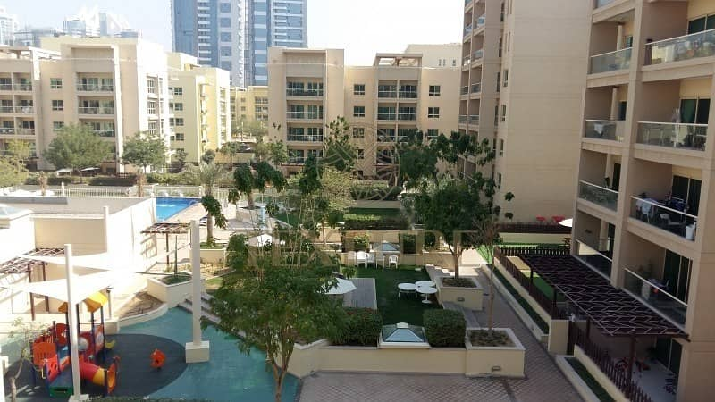 ** 1BR Apt. in Al Samar with countyard for Sale **