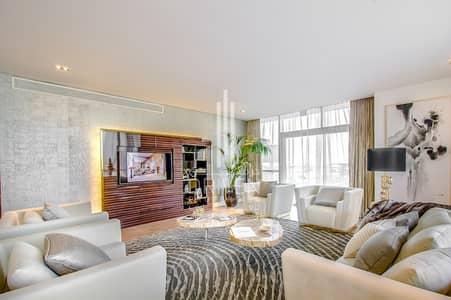 شقة 3 غرفة نوم للايجار في جميرا، دبي - Furnished 3 Bedroom Apt in a Corner Unit