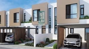 15 Luxury villa in Sharjah WITHOUT any service charges FOREVER-2bed room