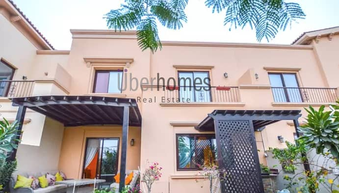 Close to Pool and  Park | 3 Bed +Maids.