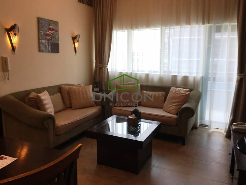 2 Bright    Fully Furnished   With Balcony