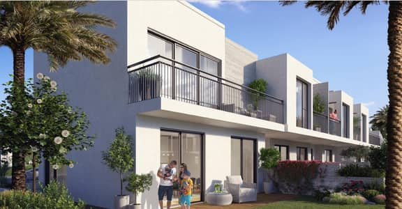 3 Bedroom Townhouse for Sale in Dubai South, Dubai - 888 | 1.25% per month | Limited