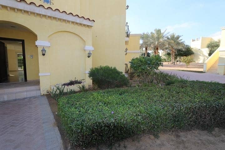 1 2 BR Villa On Ground floor with private garden