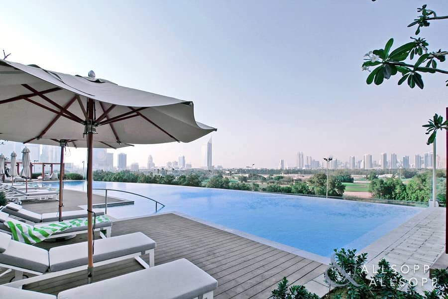 2 Hotel Apartment | 2 Bed | Part Golf View