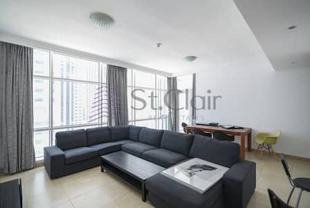 Fully Furnished 2 Beds | Huge Balcony | Mid Floor