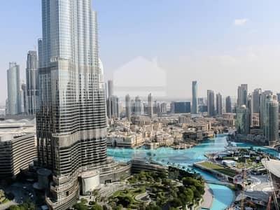 3 Bedroom Flat for Sale in Downtown Dubai, Dubai - Burj Vista 1 | Large 3 Bedrooms Plus Maid