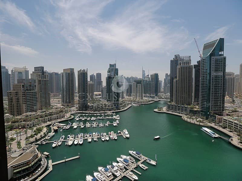 Stunning Full Marina View 3 Bed property for rent