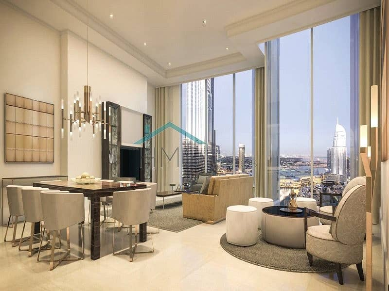3 Bed | Full Burj Khalifa View | Type D