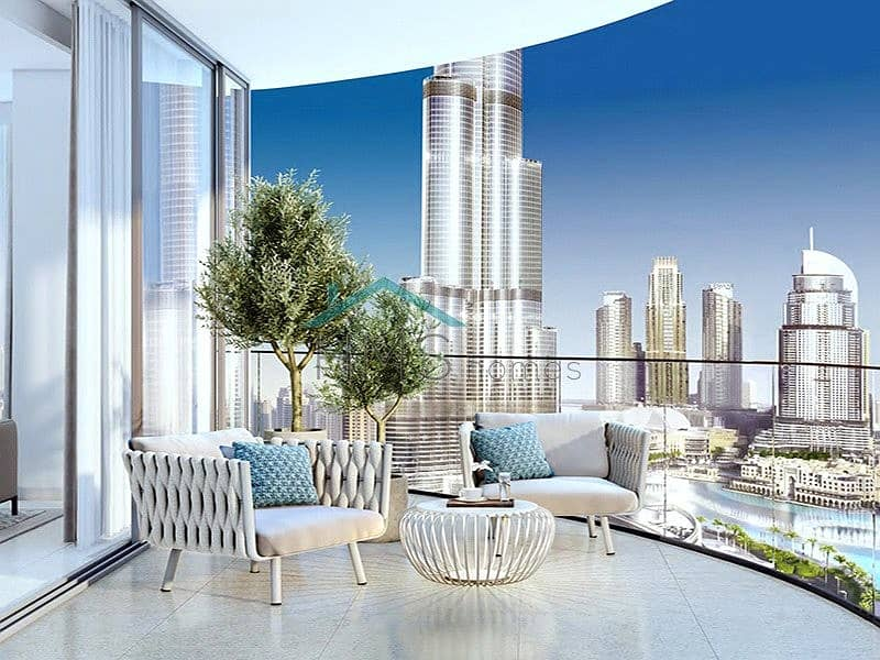 2 3 Bed | Full Burj Khalifa View | Type D