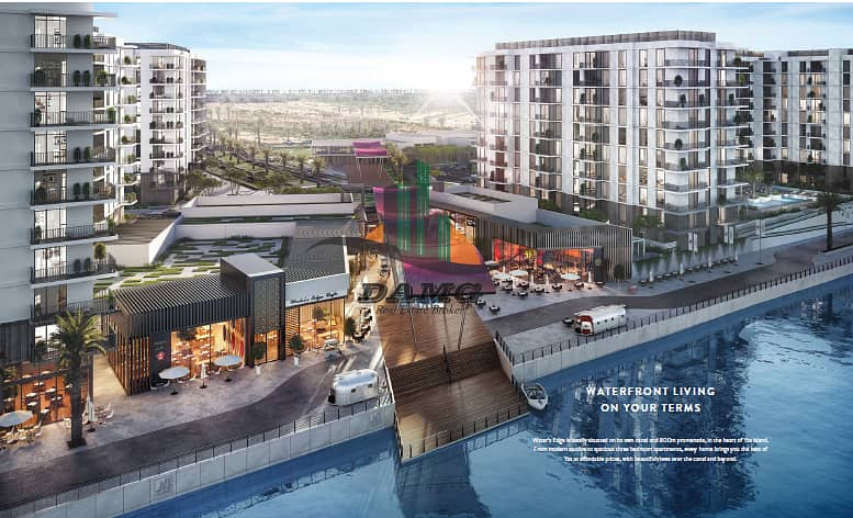 WATER FRONT APARTMENTS AT THE PERFECT SPOT IN YAS ISLAND