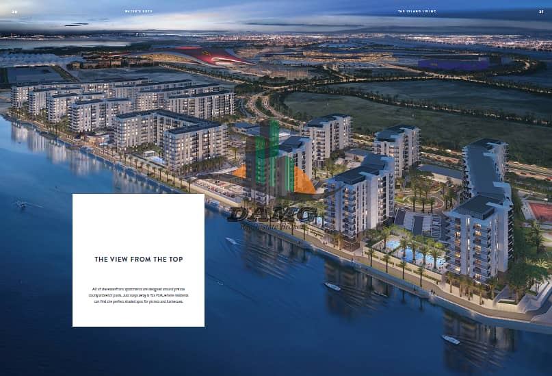 2 WATER FRONT APARTMENTS AT THE PERFECT SPOT IN YAS ISLAND