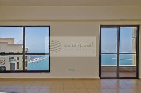 شقة 2 غرفة نوم للبيع في مساكن شاطئ جميرا (JBR)، دبي - Dubai Eye and Palm Views - 2BR in RIMAL1