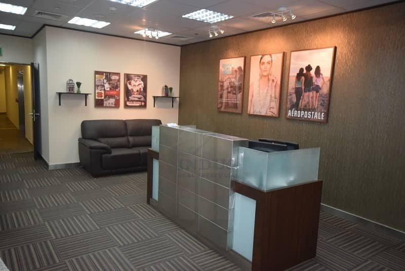 Professionally Fully Fitted Office Space | Almas Tower JLT