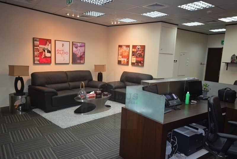 2 Professionally Fully Fitted Office Space | Almas Tower JLT