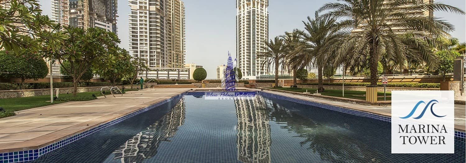 10 Marina Tower/ 2 Br+study/marina View @ 1.6M Only