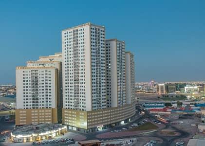 شقة 2 غرفة نوم للبيع في عجمان وسط المدينة، عجمان - تملك غرفتين وصاله فى ابراج لؤلؤة عجمان بسعر متميز جدا فقط 295 الف