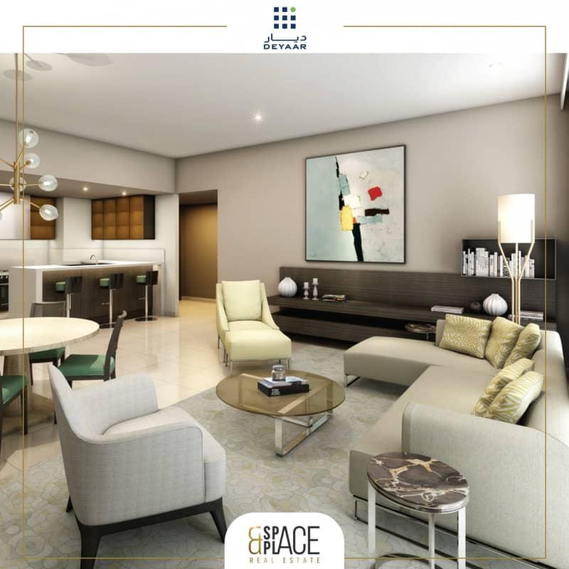 2 Spacious Studio Apartments | 5% booking | 4% DLD