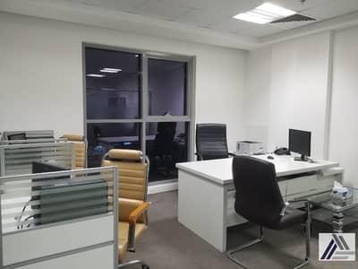 مکتب  للايجار في بر دبي، دبي - Independent Office for Use- Burjuman  Business Center Sheikh Zayed Road International City