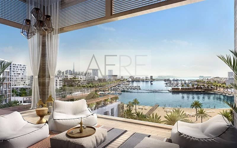 Luxurious Sea Side Apartment at Mina Rashid