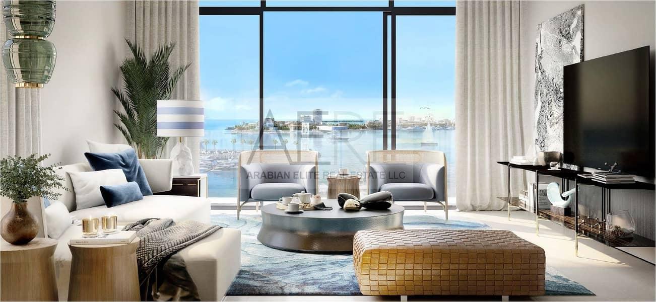 2 Luxurious Sea Side Apartment at Mina Rashid