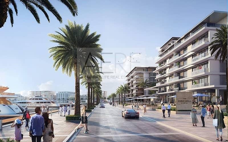 New EMAAR Waterfront Apartments in Mina RAshid