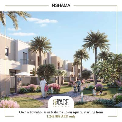3 Bedroom Townhouse for Sale in Town Square, Dubai - Limited 3BR TH | 5% booking | Starting from 1.2M