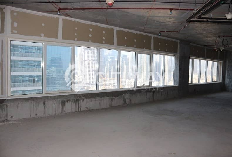 10 Amazing View in Business Bay for a Shell and Core Office