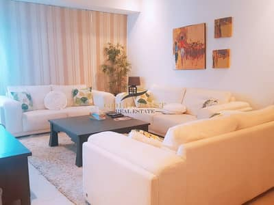 2 Bedroom Flat for Rent in Business Bay, Dubai - On high floor gloriously furnished unit