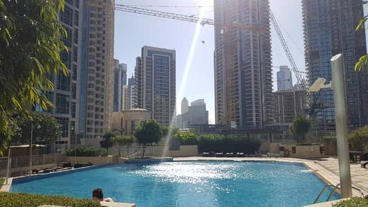 3 Bedroom Flat for Rent in Downtown Dubai, Dubai - Extravagant 3 BR w M | Burj And Fountain View