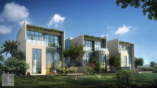 4 Bedroom Villa for Sale in Mohammad Bin Rashid City, Dubai - - Received your villa now with Payments 15 years in Health Complex green spaces.