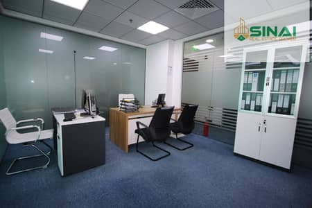 مکتب  للايجار في ديرة، دبي - Fully Furnished Office Available For Rent In Al Rigga