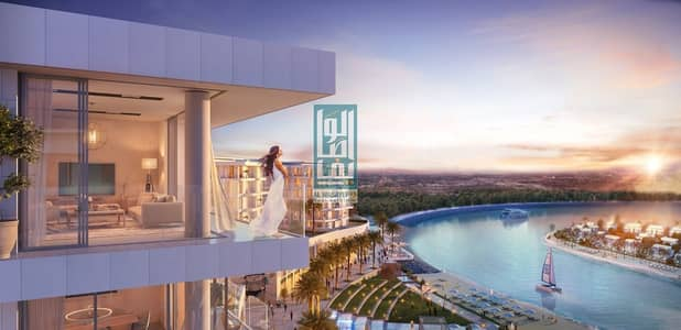 Luxury apartment in Sharjah with sea view | 50%Post Hand over