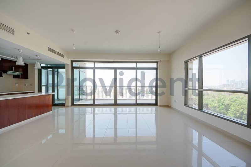 Bright and Spacious 2 Bedroom plus Study