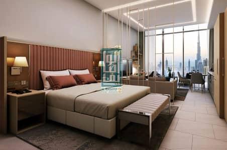 فلیٹ 1 غرفة نوم للبيع في الخليج التجاري، دبي - burj khalifa view - 7 years post handover - compilation 2020