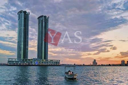 فلیٹ 1 غرفة نوم للايجار في النخیل، رأس الخيمة - Amazing One Bedroom Apartment with Fabulous Water View for Rent in Julphar Tower - Ras Al Khaimah
