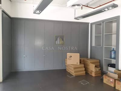 Office for Rent in Barsha Heights (Tecom), Dubai - Cheapest fitted office space I Huge Built-in Cabinet