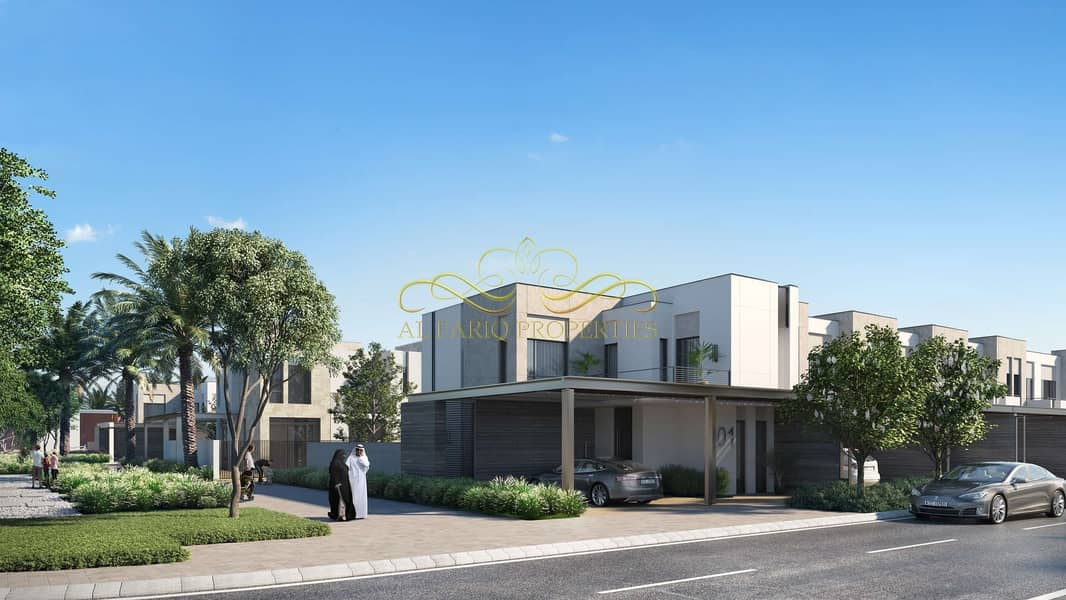 Affordable  3br villas for sale in Arabian ranches III