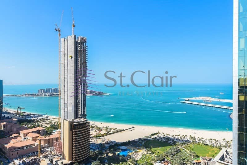 High Floor | Sea View | 1 Bed in Botanica Tower