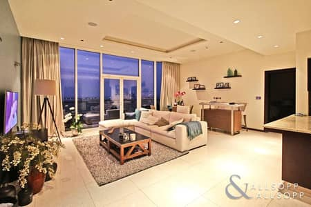 2 Bedroom Flat for Sale in Palm Jumeirah, Dubai - 2BR | Study | Full Sea View | Beach Access