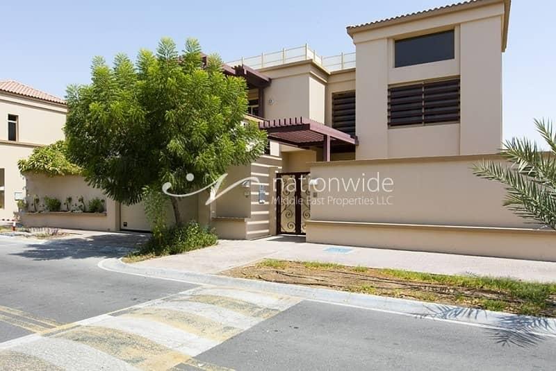 10 Sensational 5 BR Villa in Al Raha Golf Gardens