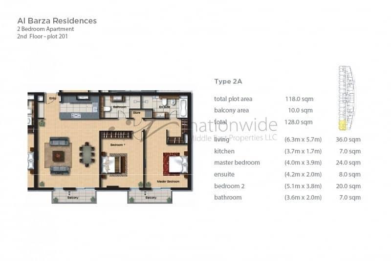 2 Beachfront 2BR Apartment + Scenic Balcony