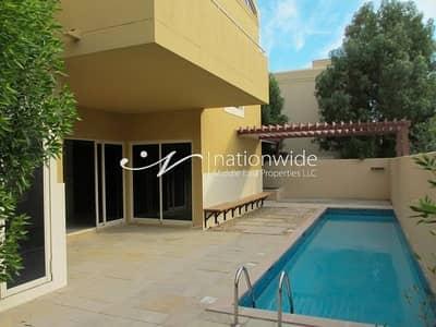فیلا 5 غرفة نوم للبيع في حدائق الراحة، أبوظبي - 5BR Deluxe Villa | Maid's + Private Pool