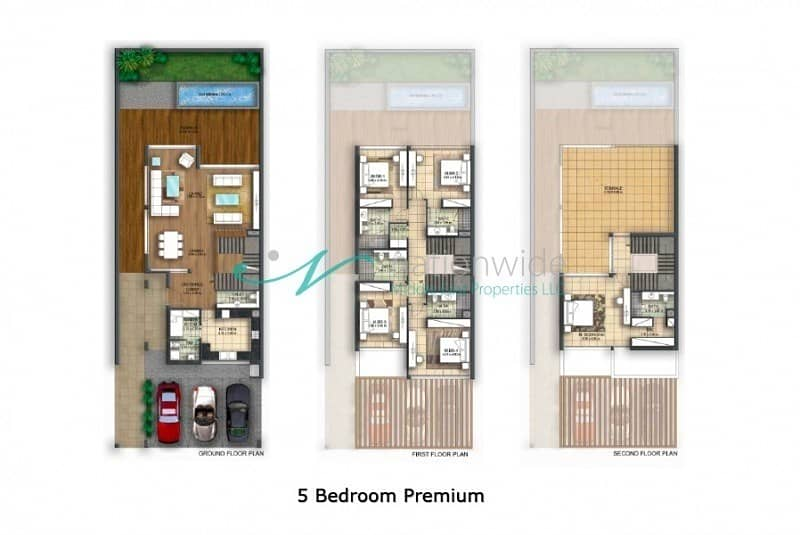 11 Brand New 5BR Townhouse with Maid's Room