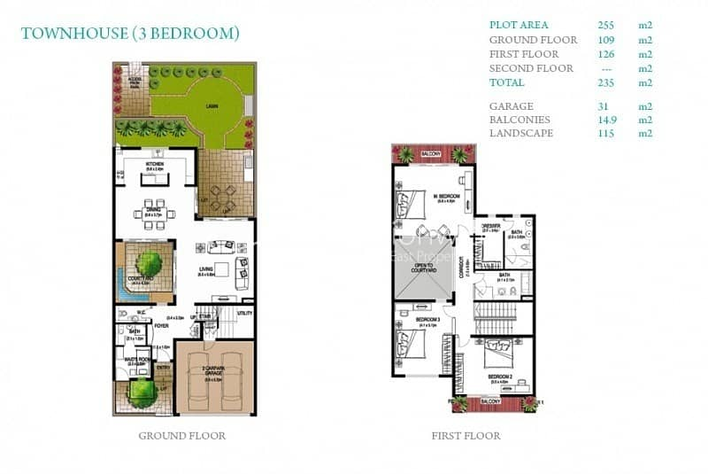 11 Outstanding 3BR Townhouse w/ Big Lay out
