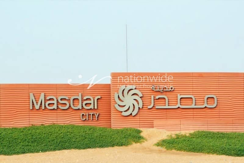2 Brand New 1 BR Apartment In Masdar City!