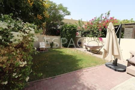 فیلا 3 غرفة نوم للايجار في البحيرات، دبي - Park and Pool - Lakes - F Middle