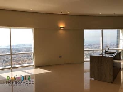 شقة 2 غرفة نوم للايجار في شارع الشيخ زايد، دبي - Chiller Free|2 bed|1 Month free|Sea View