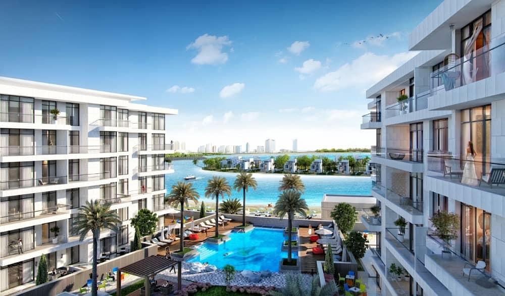 تملك منزلك علي البحر مباشرة في بلو باي اجمل مكان في مدينة الشارقة للواجهات المائيةز