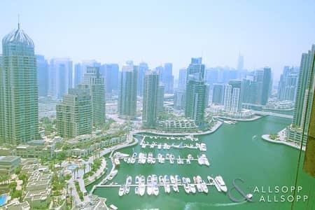 فلیٹ 1 غرفة نوم للبيع في دبي مارينا، دبي - Marina Views | One Bedroom | Below OP