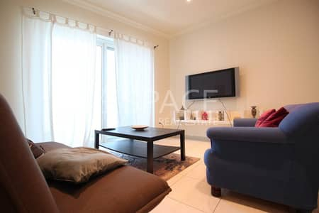 2 Bedroom Flat for Rent in Dubai Marina, Dubai - Fully Funished 2 Bedrooms in Marina Heights